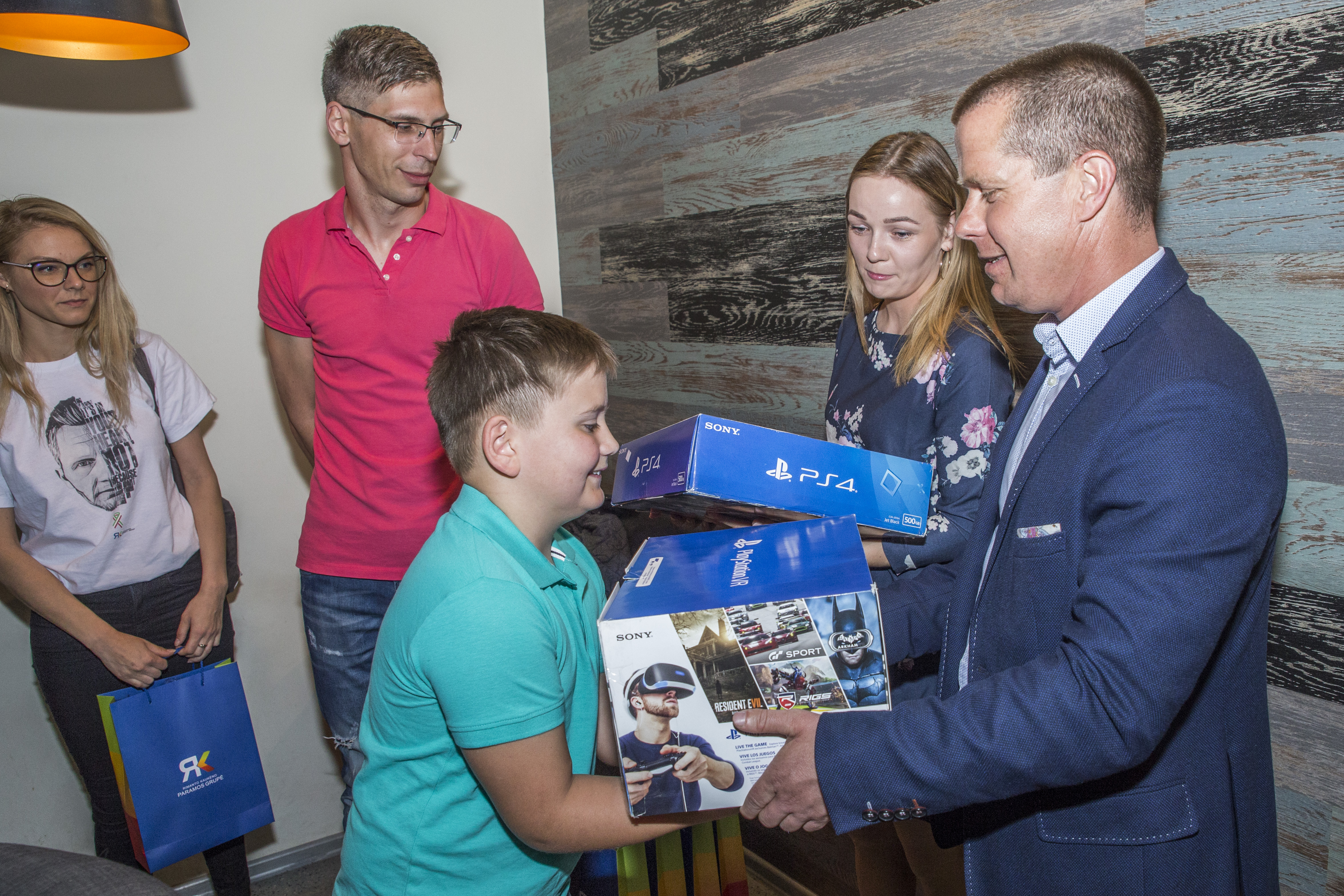 Panevezys sport`s organizations and businesses fulfilled the dream of Dominykas